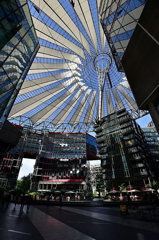 德國-柏林-波茲坦廣場-新力中心