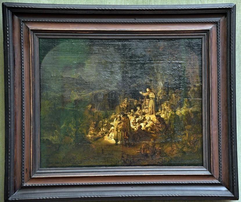德國-柏林-畫廊(Gemäldegalerie)-The Preaching of St John the Baptist(施洗者聖約翰傳道)