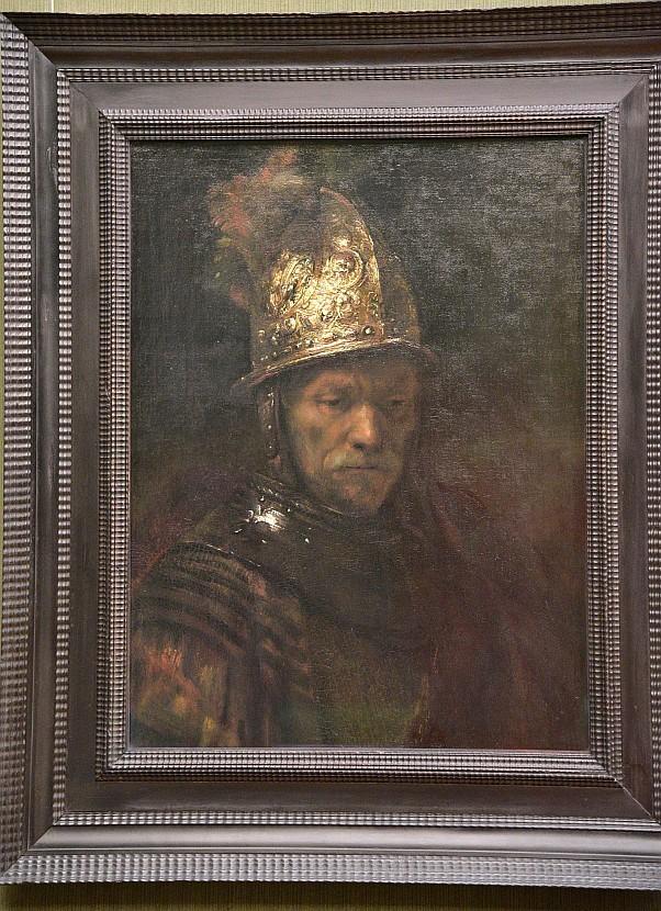 德國-柏林-畫廊(Gemäldegalerie)-The Man with the Golden Helmet(金盔男子)