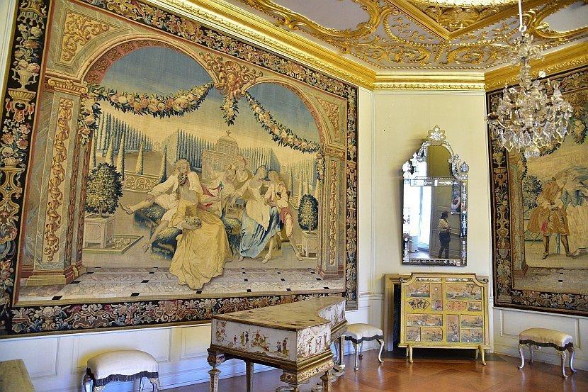 德國-柏林-夏洛登堡宮(Schloss Charlottenburg)-舊皇宮前廳Antechamber