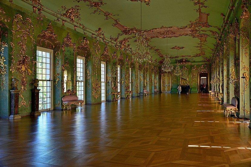 德國-柏林-夏洛登堡宮(Schloss Charlottenburg)-新翼Golden Gallery