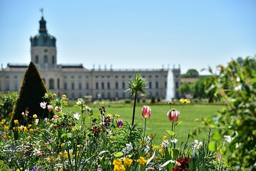 德國-柏林-夏洛登堡宮(Schloss Charlottenburg)-花園