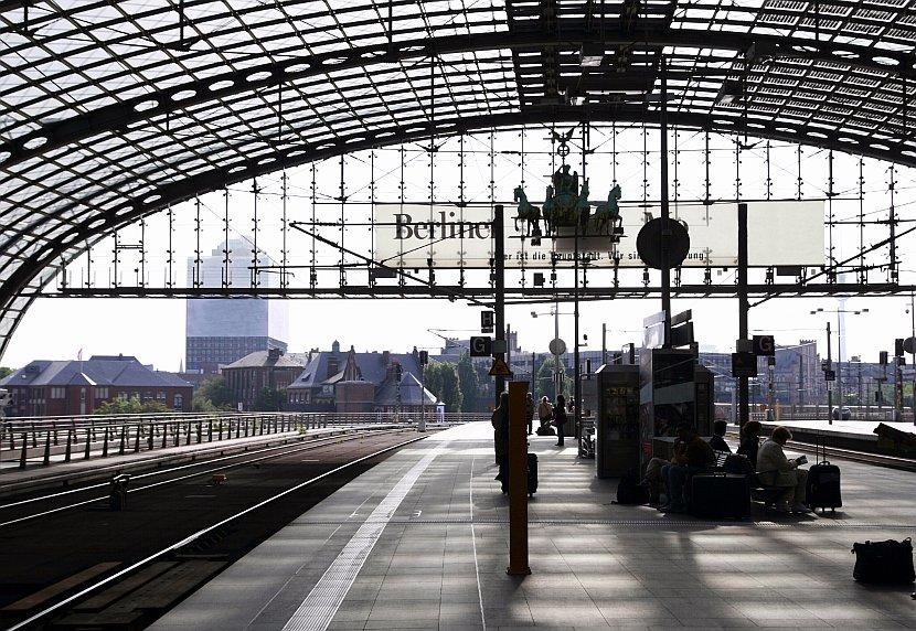 德國-柏林-柏林中央車站