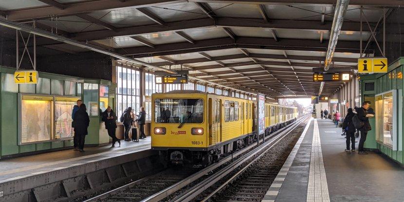 德國-柏林-U-Bahn