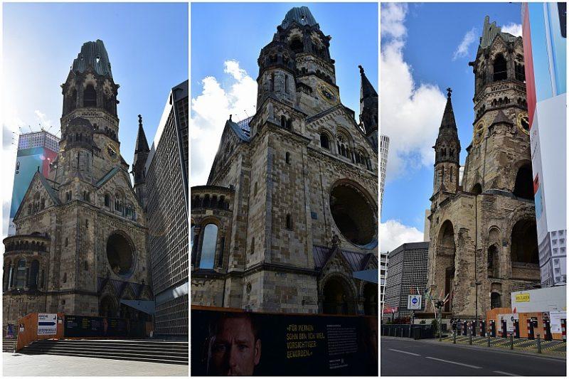 德國-柏林-威廉皇帝紀念教堂