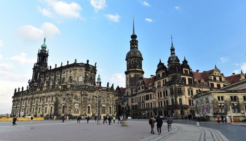 德國-德勒斯登-德勒斯登王宮與宮廷教堂