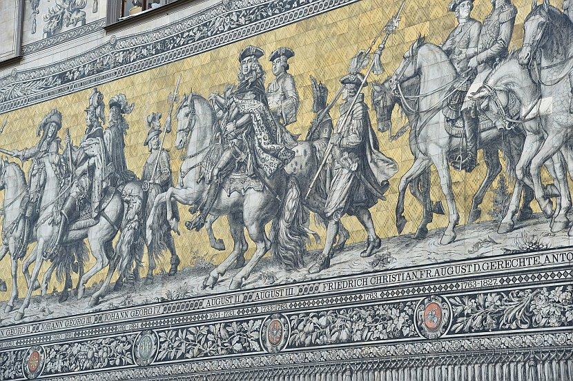 德國-德勒斯登-君主出巡壁畫