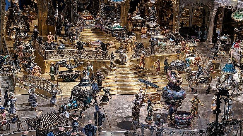 德國-德勒斯登-新綠穹珍寶館-德里的宮廷
