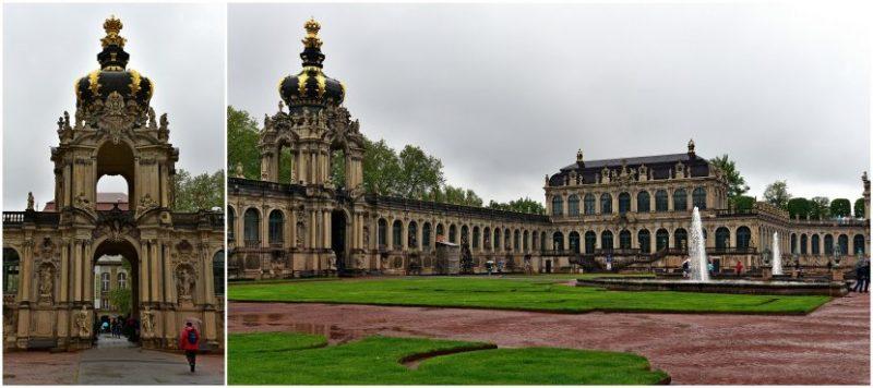 德國-德勒斯登-茲溫格宮(Zwinger)王冠門