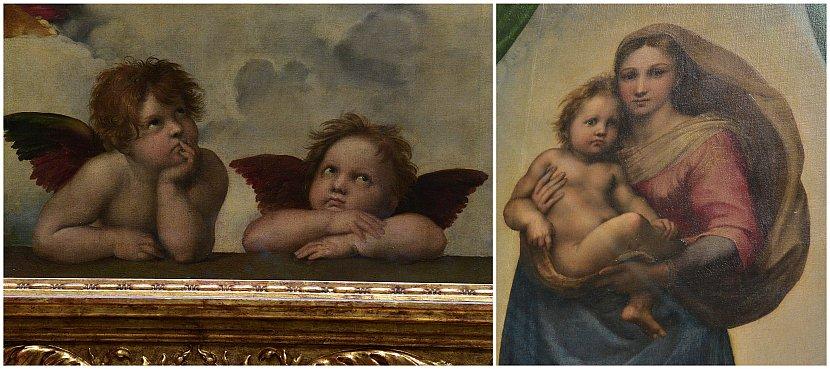 德國-德勒斯登-茲溫格宮-歷代大師畫廊-西斯汀聖母像(The Sistine Madonna)