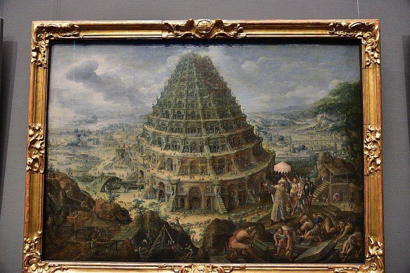 德國-德勒斯登-茲溫格宮-歷代大師畫廊-巴別塔(The Tower of Babel)