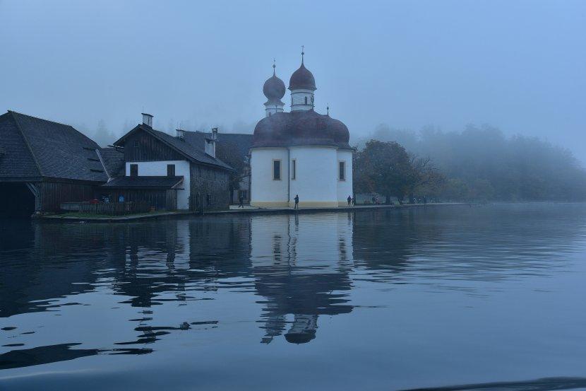 德國-國王湖-聖巴多羅買教堂