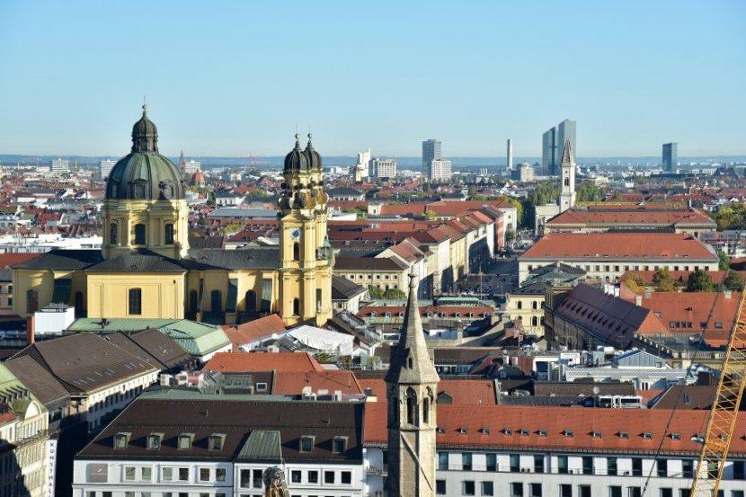 德國-慕尼黑-老彼得教堂塔樓