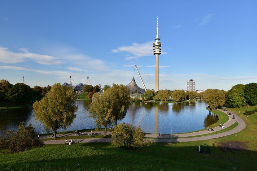 德國-慕尼黑-奧林匹克公園