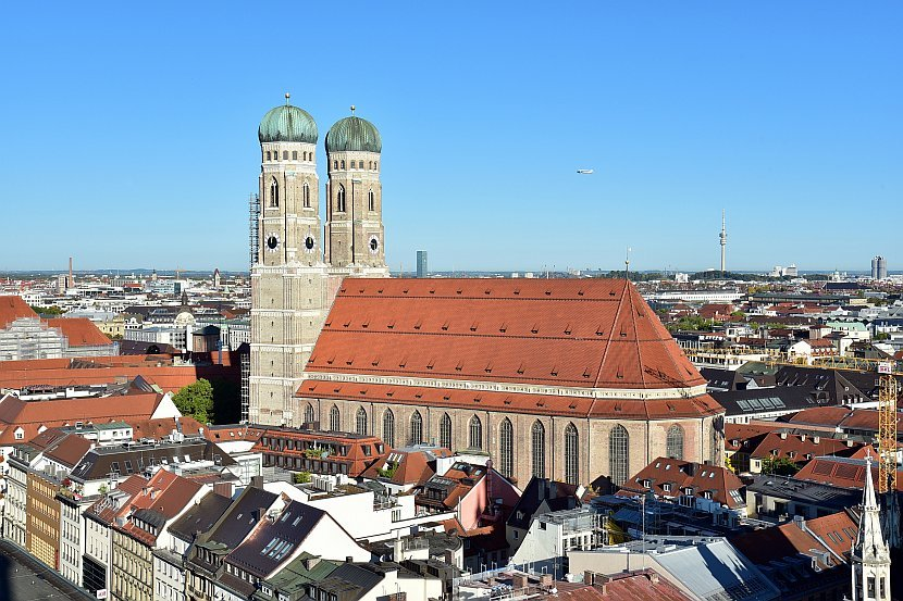德國-慕尼黑-老彼得教堂觀景台