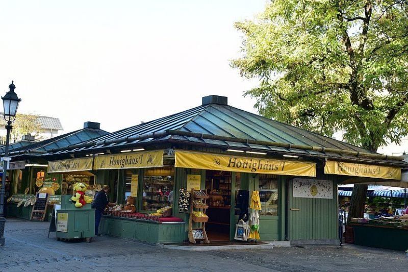德國-慕尼黑-穀物市場(Viktualienmarkt)