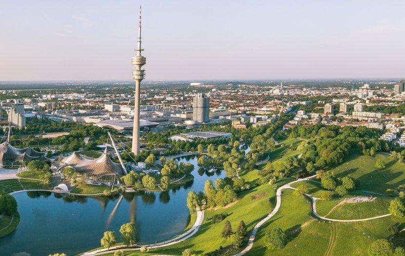 德國-慕尼黑-奧林匹克運動公園