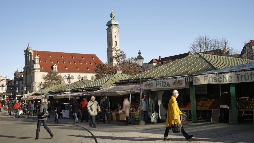 慕尼黑景點-穀物市場