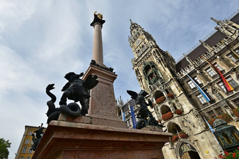 德國-慕尼黑-新市政廳