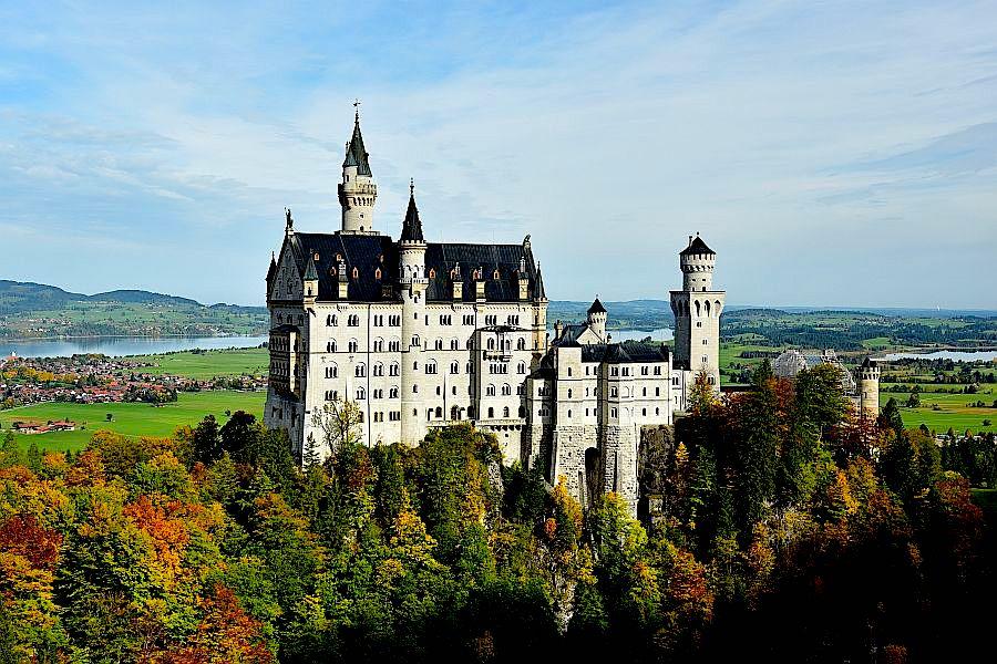德國-慕尼黑-新天鵝堡