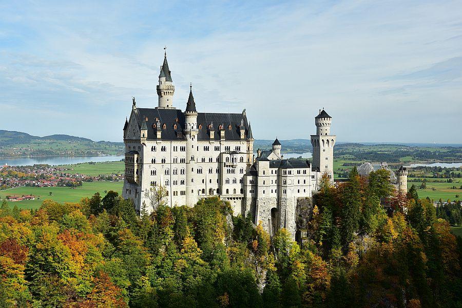 德國-羅曼蒂克大道-新天鵝堡Schloss Neuschwanstein