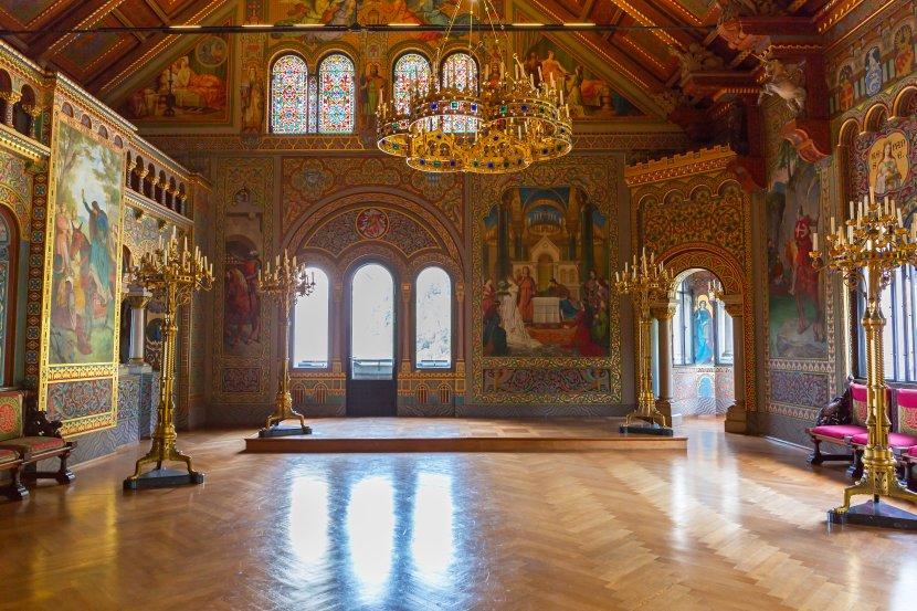 德國-新天鵝堡-宴會廳Singers' Hall