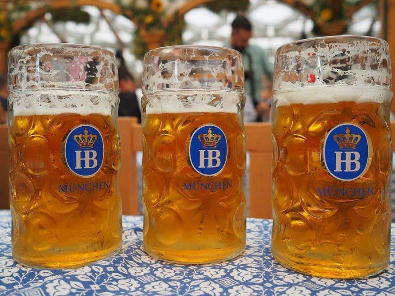 德國-慕尼黑啤酒節-Hofbräu Festzelt帳篷