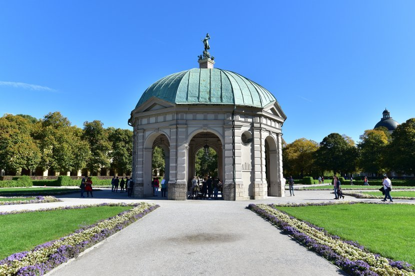 德國-慕尼黑王宮-王宮花園