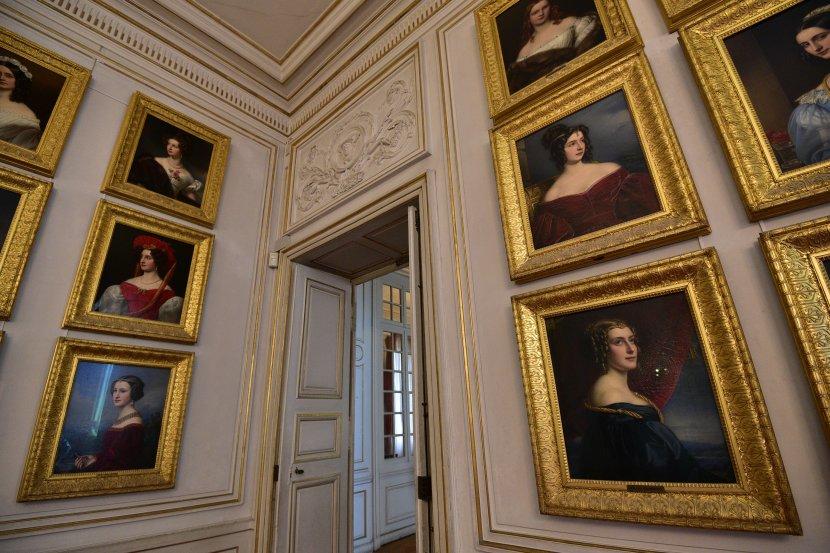 德國-慕尼黑-寧芬堡宮-美人畫廊