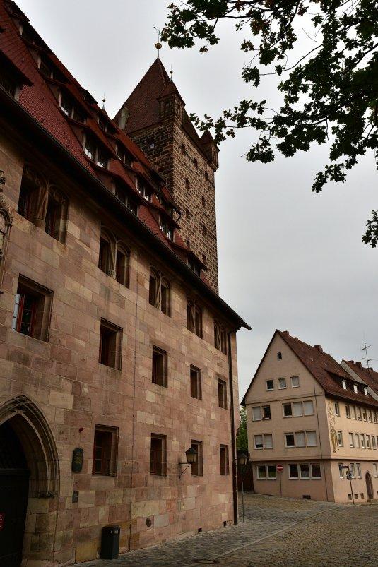 德國-紐倫堡-紐倫堡城堡-Luginsland Tower