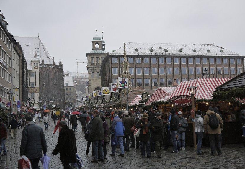 德國-紐倫堡-主廣場(Hauptmarkt)