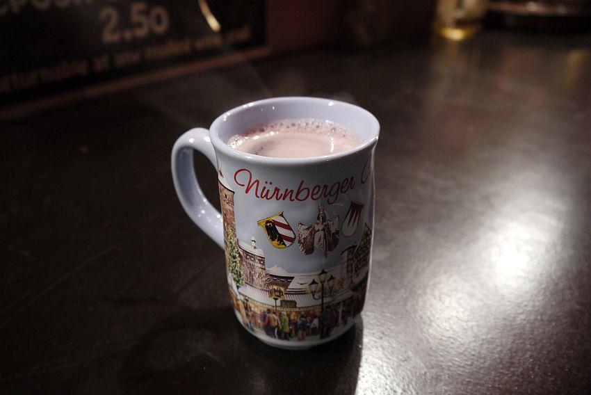 紐倫堡聖誕市集Christkindlesmarkt-熱紅酒Gluhwein