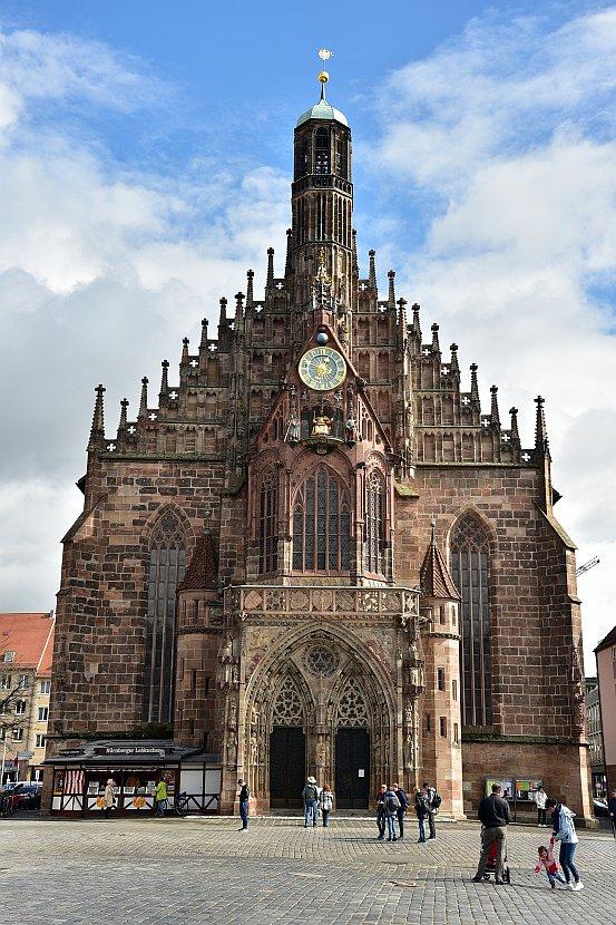 德國-紐倫堡-主廣場聖母教堂