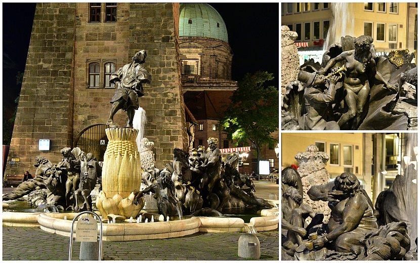 德國-紐倫堡-婚姻生活噴泉(Ehekarussell)