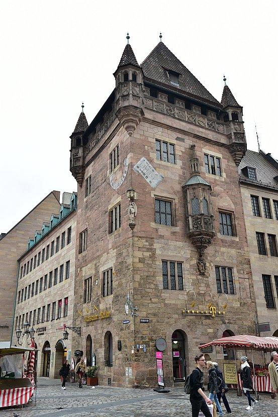 德國-紐倫堡-拿騷人之屋(Nassauer Haus)
