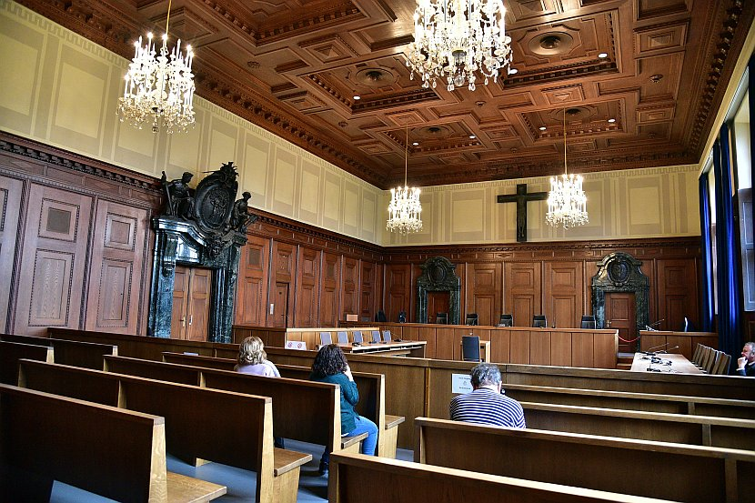 德國-紐倫堡-紐倫堡審判600號法庭