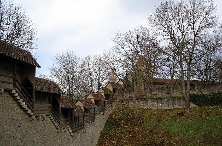 德國-羅騰堡-城牆