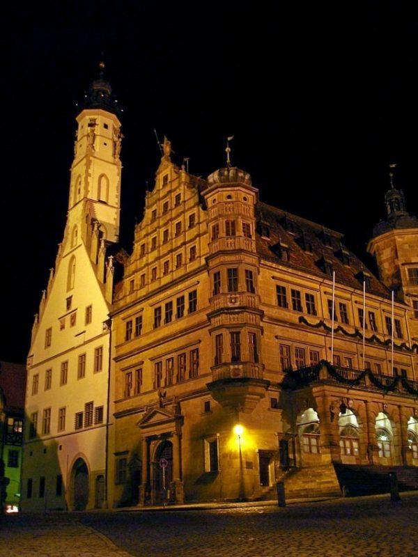 德國-羅騰堡-市政廳