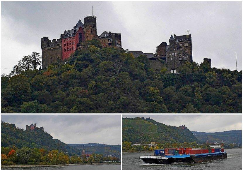 德國-萊茵河遊船-Schönburg