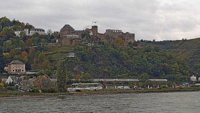 德國-萊茵河遊船-Rheinfels Castle