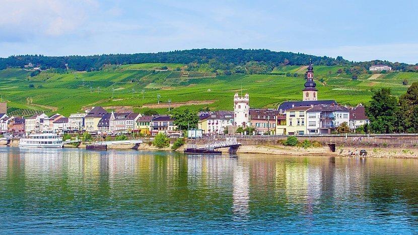 德國-萊茵河-萊茵河遊船