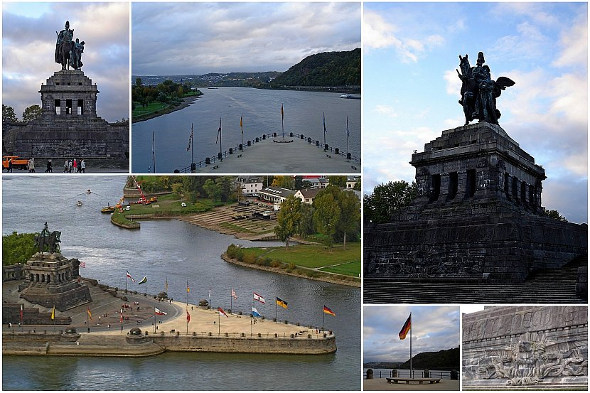 德國-萊茵河-科布林茲-德意志之角