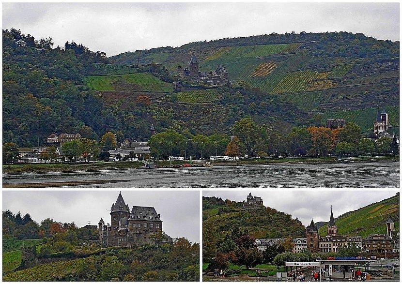 德國-萊茵河遊船-Stahleck Castle