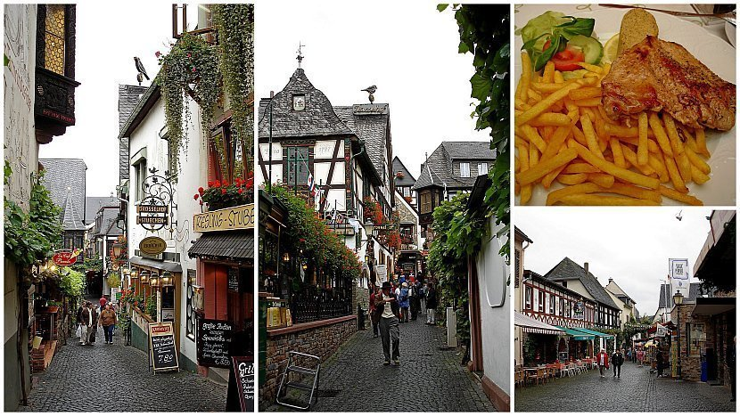 德國-萊茵河-呂德斯海姆(德語:Rüdesheim am Rhein)