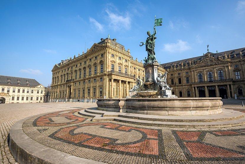 德國-符茲堡-主教宮殿外觀