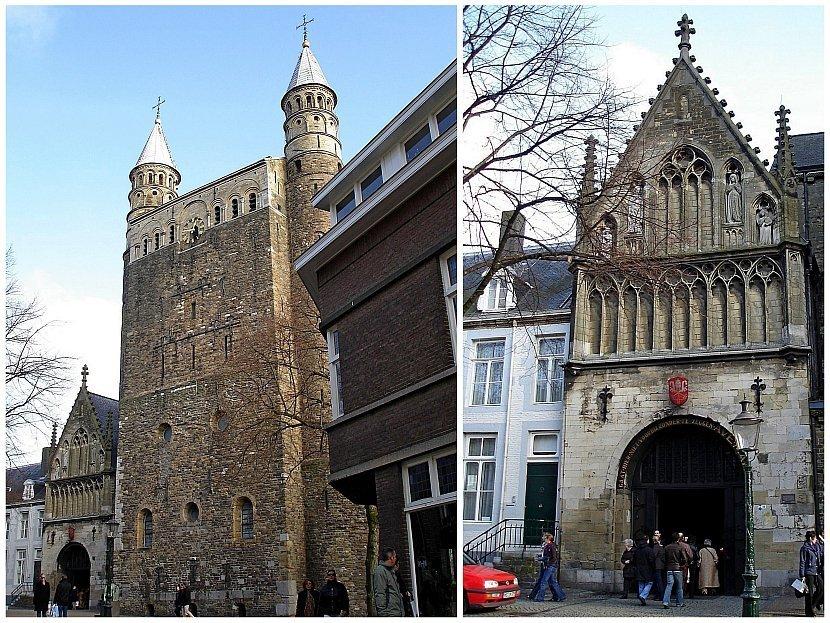 荷蘭-馬斯垂克-聖母教堂(Basiliek van Onze Lieve Vrouwe)