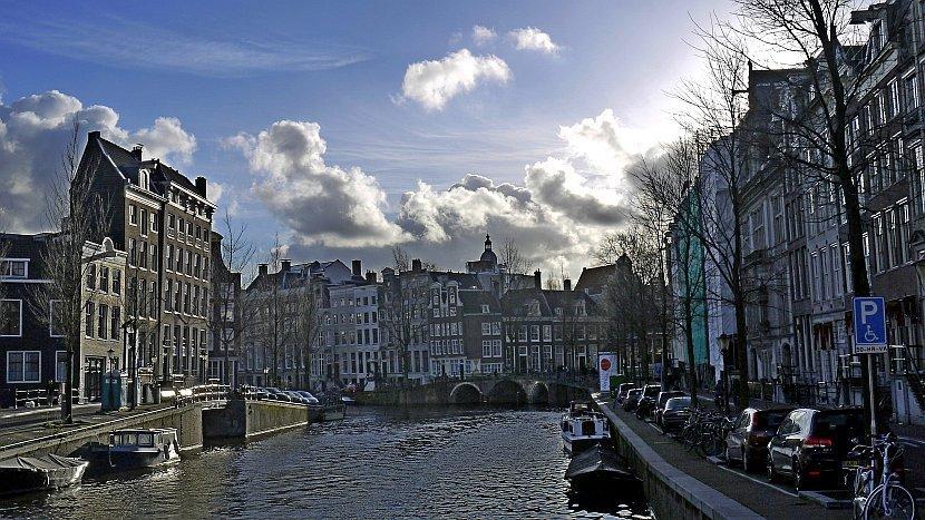 荷蘭-阿姆斯特丹-運河屋
