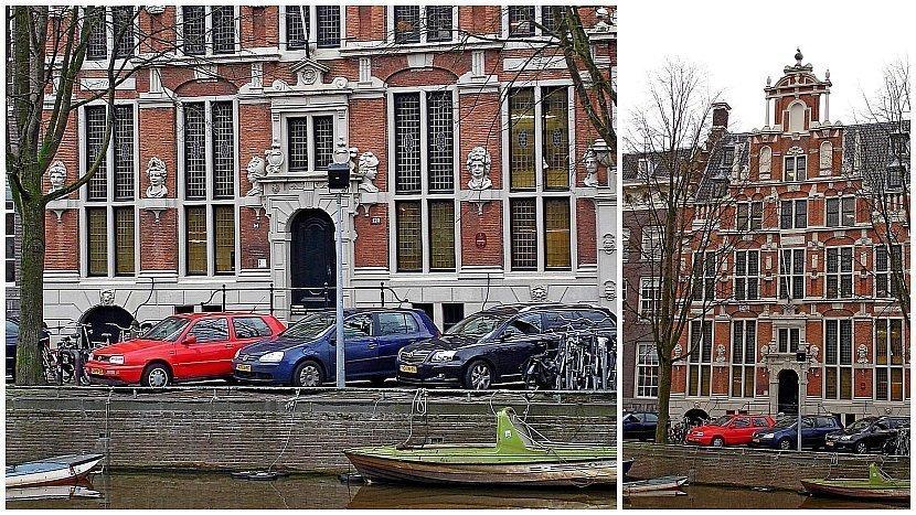 阿姆斯特丹-運河屋-神像屋Huis met de Hoofden