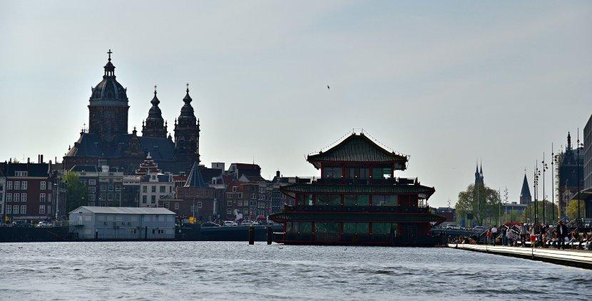 荷蘭-阿姆斯特丹-阿姆斯特丹運河遊船