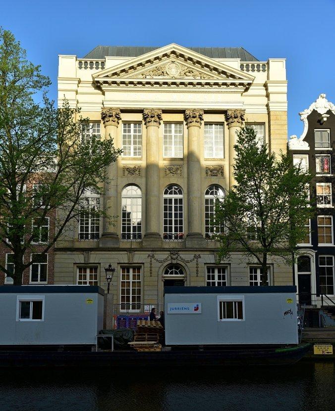 阿姆斯特丹-運河屋-菲麗美樂大樓(Felix Meritits)